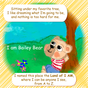 ABC Book Bailey Bear in the Land of I AM